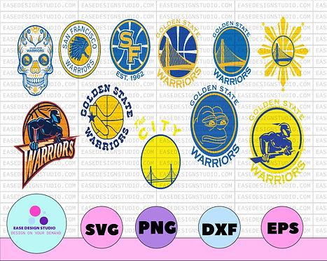 NBA ,Logo Golden State Warriors, National Basketball , Basketball Svg , NBA