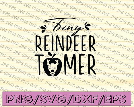 Tiny reindeer tomer Reindeer SVG, Christmas SVG, Reindeer Clipart, Christmas Rei