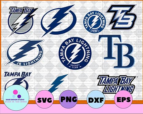 Tampa Bay Lightning Svg, Lightning Svg, NHL svg, hockey cricut,NHL