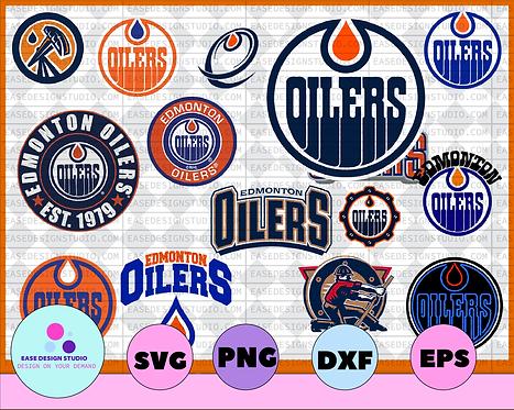 Edmonton Oilers SVG, dxf,png,eps, NHL svg, hockey cricut, hockey svg,NHL