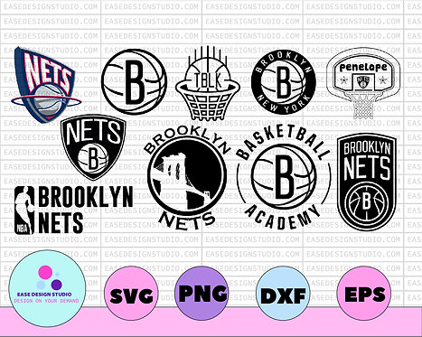 NBA Brooklyn Nets, Brooklyn Net svg, Basketball Academy, Broklyn svg,NBA