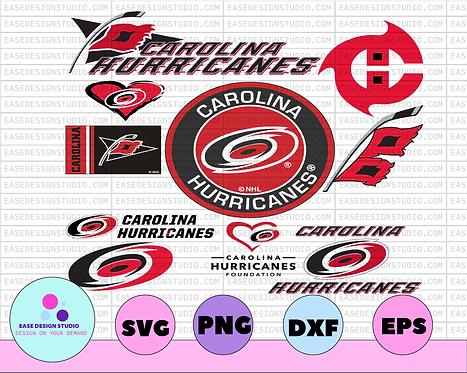 Carolina Hurricanes, Hurricanes Svg, NHL svg, hockey cricut, Download - NHL