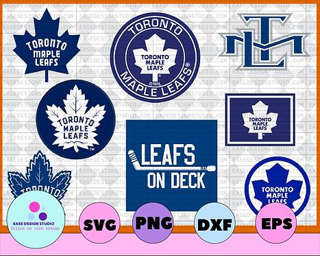 Toronto Maple Leafs Svg, Maple Leafs Svg, NHL svg, hockey cricut, NHL