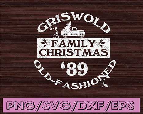 Griswold family christmas 89 old-fashioned svg, dxf,eps,png, Digital Download