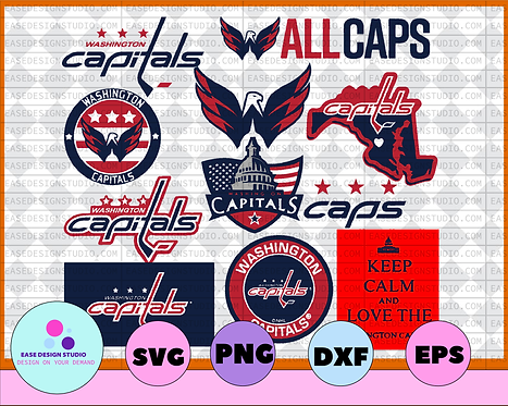 Washington Capitals Svg, Capitals Svg, NHL svg, hockey cricut, NHL
