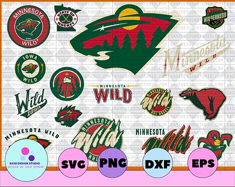 Minnesota Wild SVG,dxf,png,eps, NHL svg, hockey cricut, hockey svg,NHL