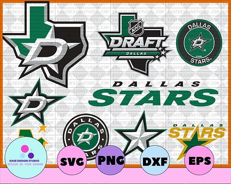Dallas Stars SVG ,dxf,png,eps, NHL svg, hockey cricut, hockey svg,Download - NHL