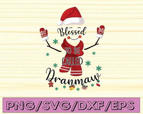 Blessed to be called Dranmaw  png, Blessed png, Buffalo plaid, Winter png,