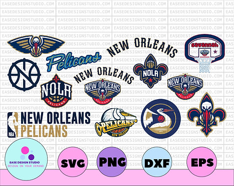 NBA New orleans pelicans svg, New Orleans Bundle svg, basketball svg,svg,png,NBA