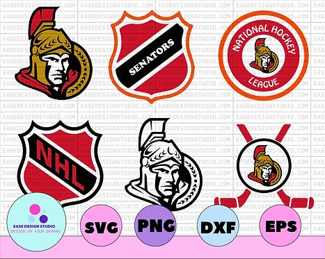 Ottawa Senators Svg, Senators Svg, NHL svg, hockey cricut, NHL