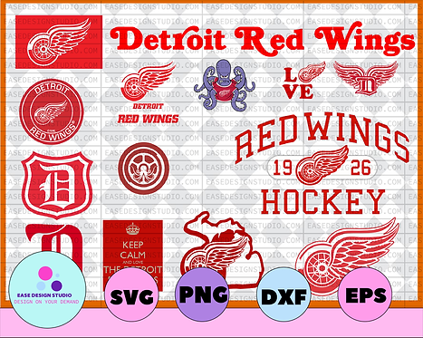 Detroit Red Wings Svg, Red Wings Svg,NHL svg, hockey cricut, Download - NFL