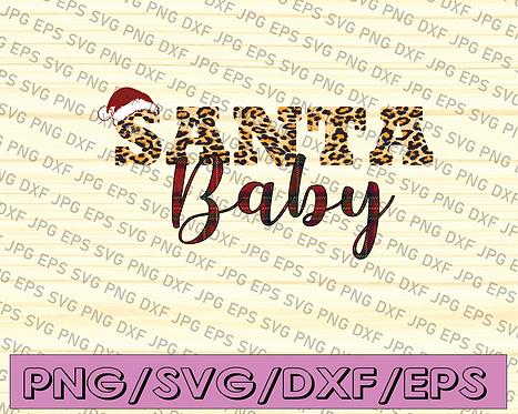 Santa Baby Png, Digital instant Download, Christmas Sublimation,