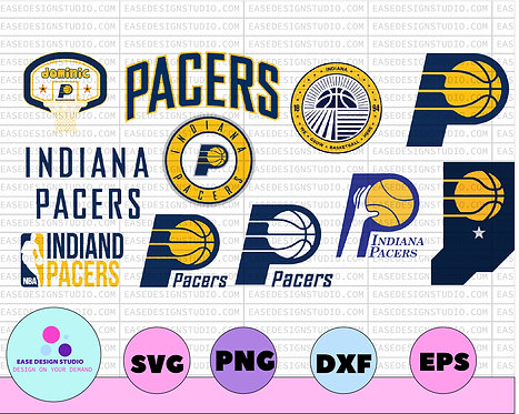 NBA INDIANA PACERS SVG,  Nba teams logo bundle svg, Nba teams svg, NBA