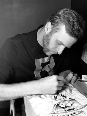 Kevin-Milsop-DLG-Tattoo-Artist-Tattooer-Pennsylvania-painter