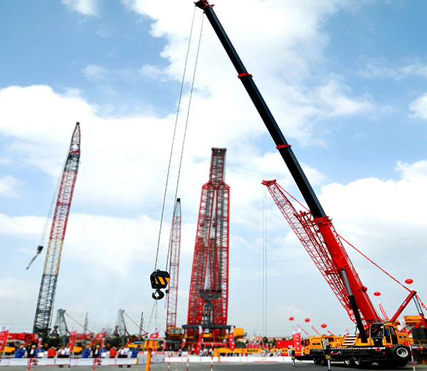 50 tons mobile crane