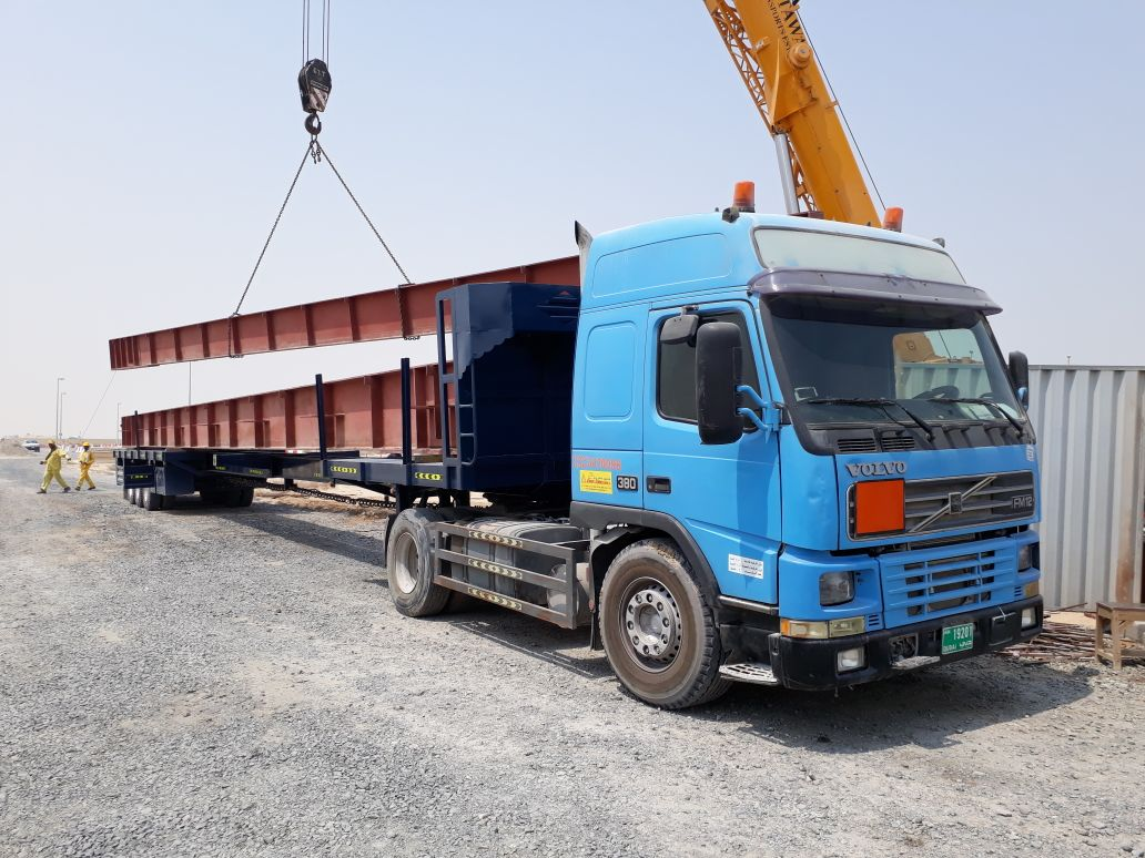 Truck And Cranes | Dubai | Jasbir Jammu Transport by Heavy