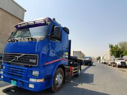Flatbed trailer 33 meter