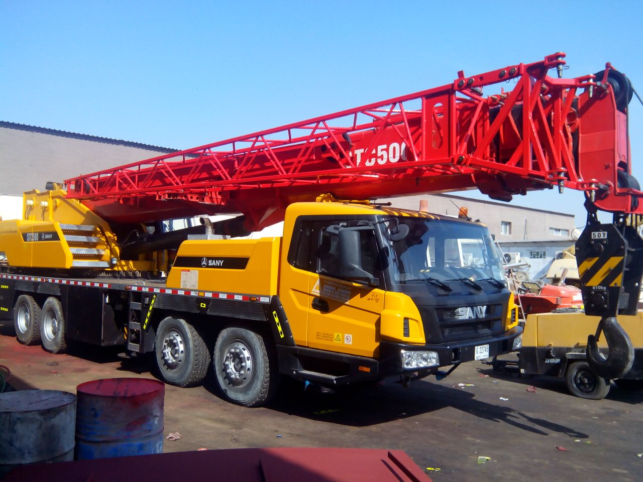 50ton mobile crane