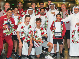 Team Qatar look for glory in AASF Asian Age Group Championships