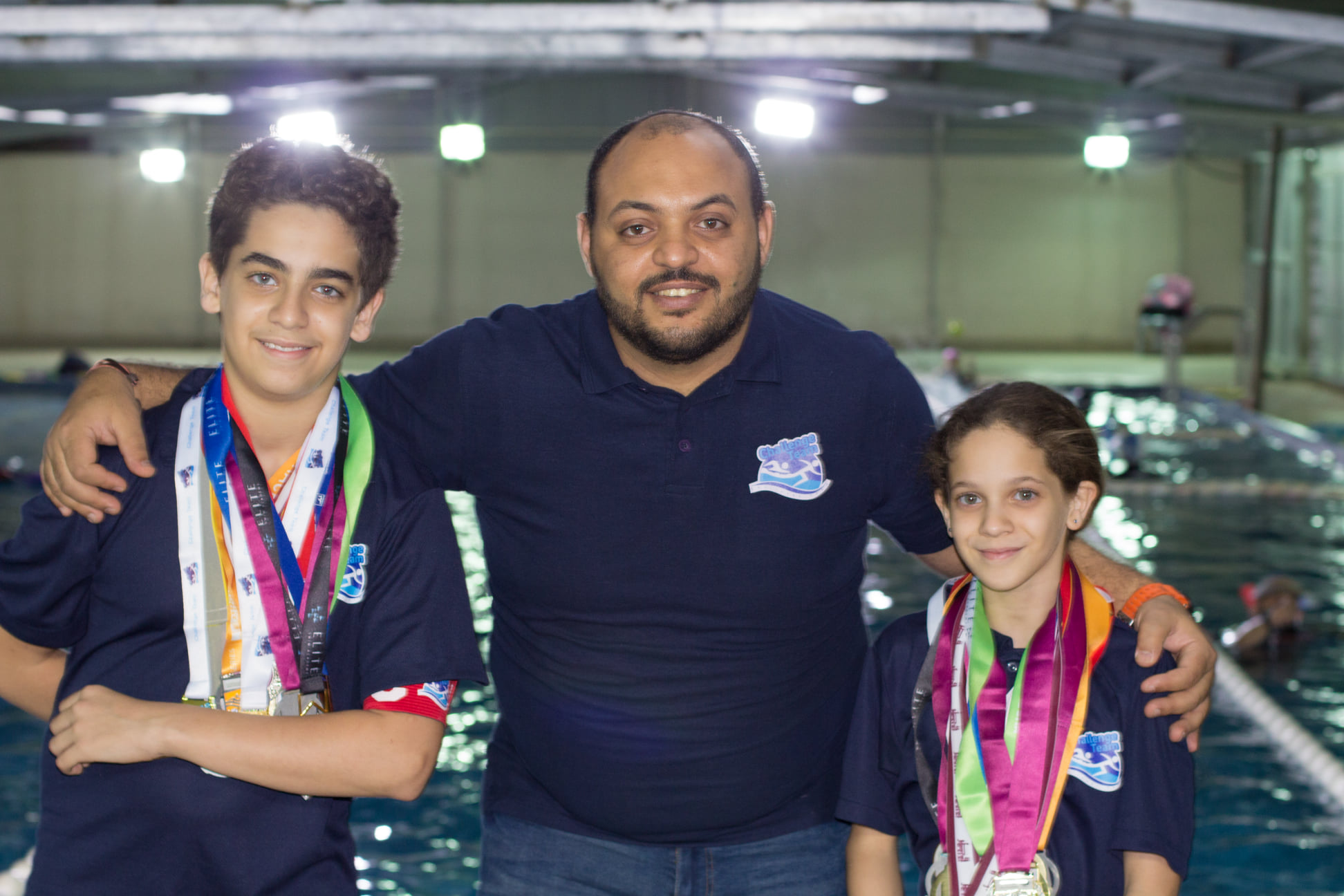 Head Coach Mostafa with Our Champions