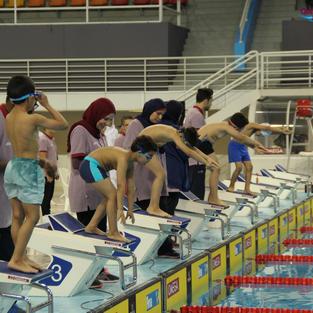 مهرجان السباحة الأول