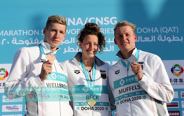 FINA /CNSG Marathon Swim World Series 2020 Doha Qatar