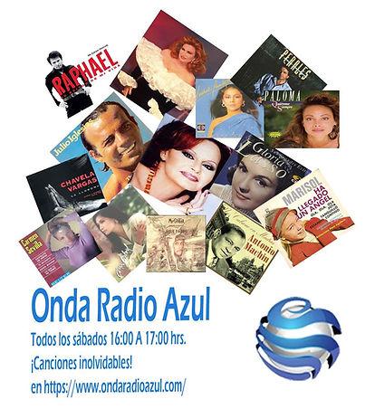 Onda Radio Azul canciones del recuerdo