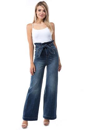 Wide Jeans Talle Alto