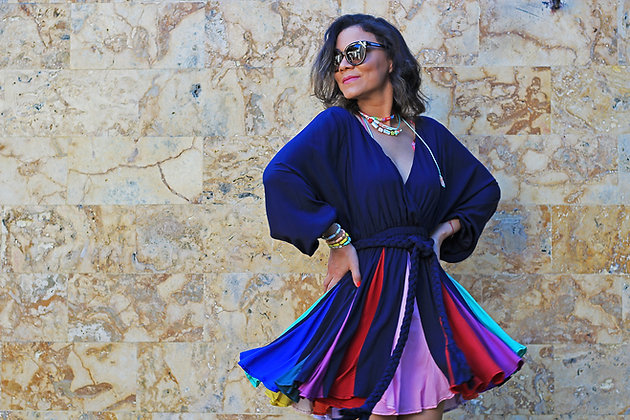 Mini Dress Colors Fun