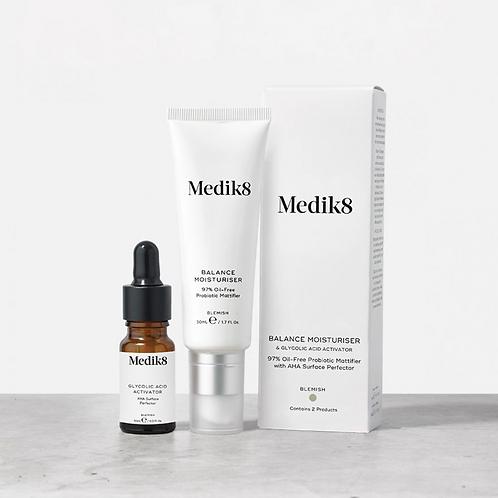 Medik8 - BALANCE MOISTURISER™ & GLYCOLIC ACID ACTIVATOR™