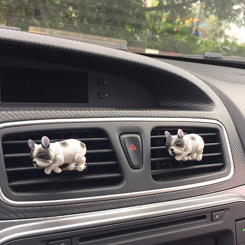 MR TEA Car Styling Cute Dog Air Conditioner Outlet Perfume Puppy Pet  Auto