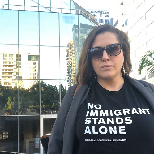 No Immigrant Stands Alone Tee