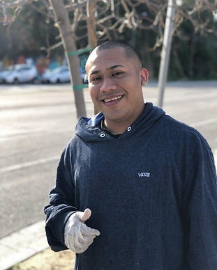 Our client, Jose gives us a thumbs up hours after being released from Adelanto Detention Center