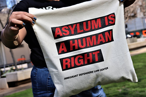 Asylum is a Human Right Tote