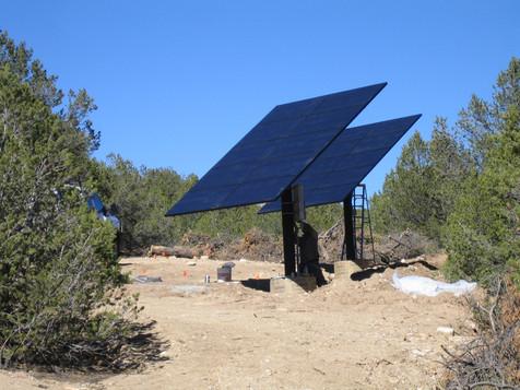 Ground mount solar arrays