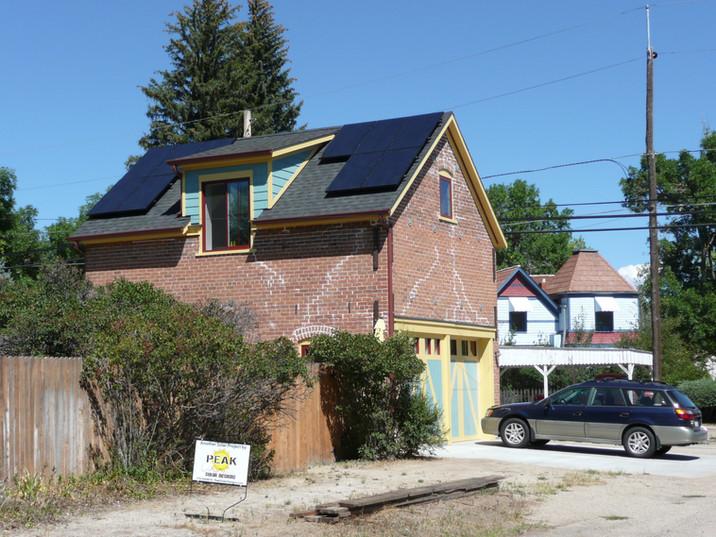 Solar Array on an ADU