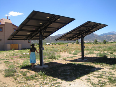 Ground mount PV arrays
