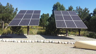 Pole Mount Adjustable Solar Arrays