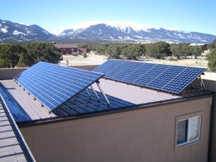 Angled Solar Arrays on Flat Roof