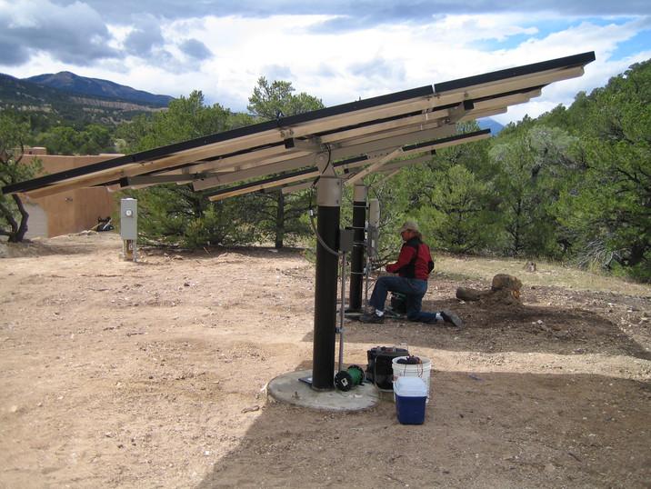 Pole Mount Tracker Installation