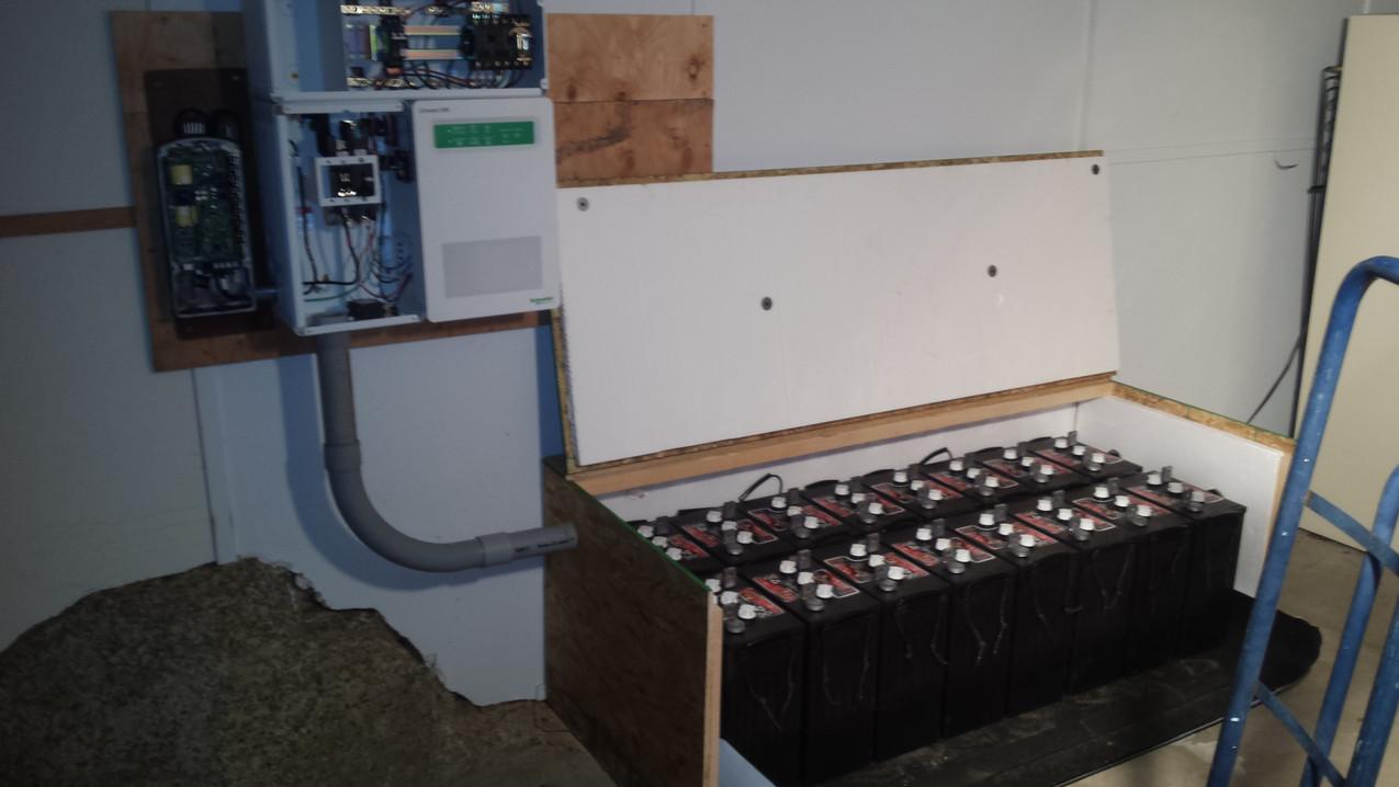 Battery Box & Inverter