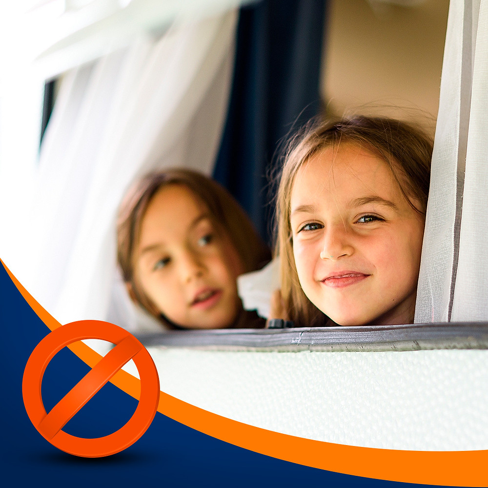 As janelas oferecem um grande perigo no transporte