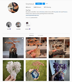 Tiny Tree UK Instagram Page