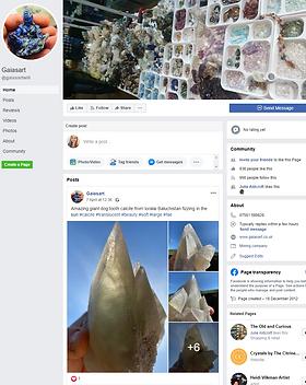 GaiasArt Facebook Page