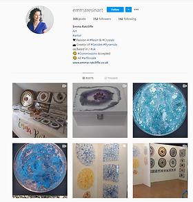 Emma Ratcliffe Instagram Page