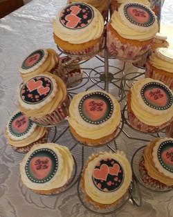 Bridal Shower Cupcakes