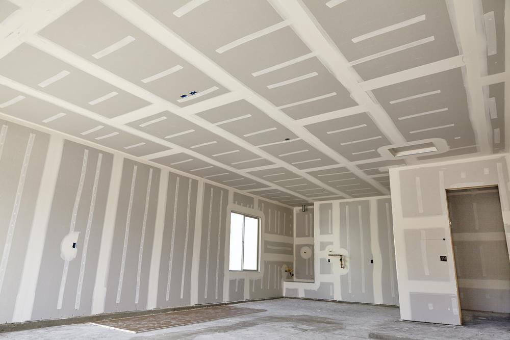 Paredes em Drywall, rápido, limpo e seguro