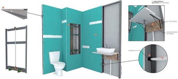 Drywall no banheiro, sim ou não? Temos a resposta!