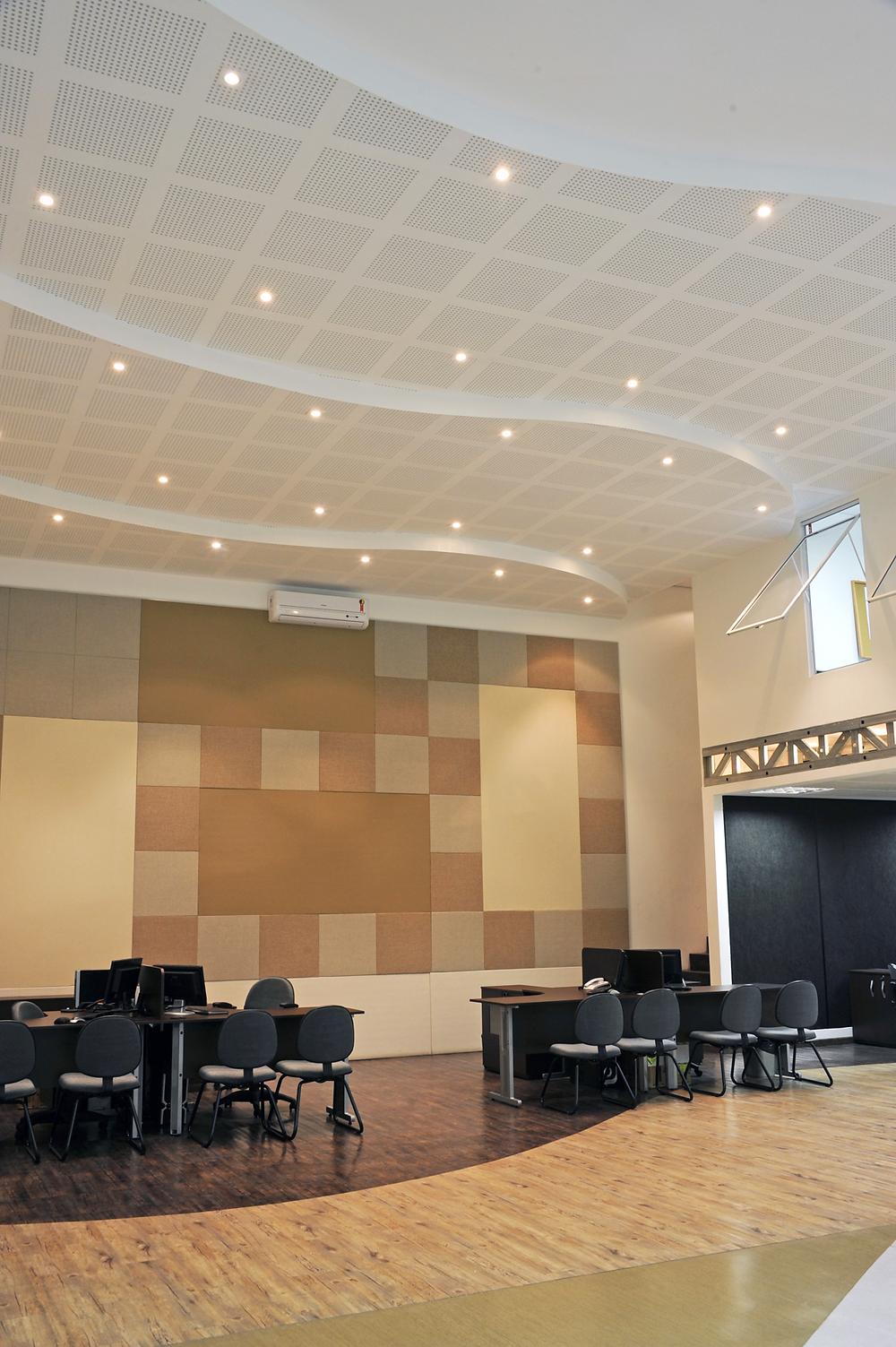 Forros e paredes em Drywall na Brasgips