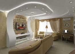 Sala com moldura e forro em Drywall
